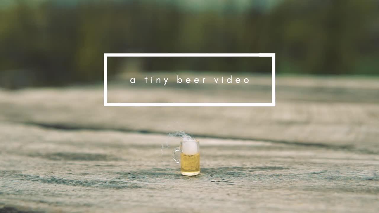 Tiny Beer Plan Bee